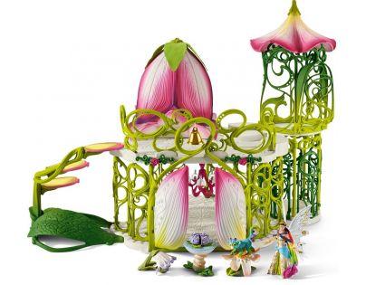 Schleich Magický elfí hrad s příslušenstvím