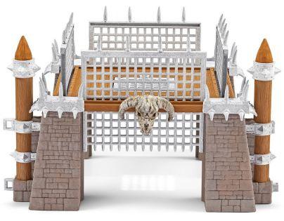 Schleich 42273 Bojová aréna se dvěma rytíři a příslušenstvím