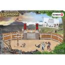 Schleich 42273 Bojová aréna se dvěma rytíři a příslušenstvím 4