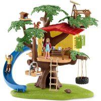 Schleich 42408 Dům na dobrodružném stromě - Poškozený obal