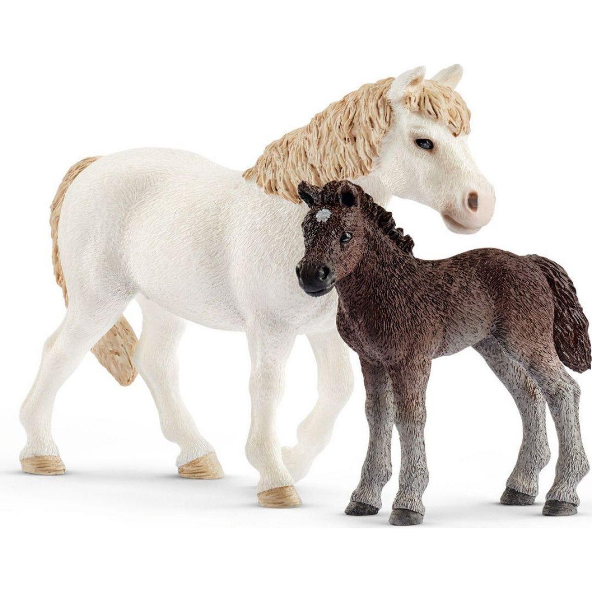 Schleich Set poník kobyla a hříbě