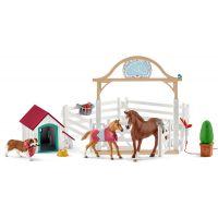 Schleich Hostující koně Hannah s fenkou Ruby
