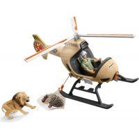 Schleich Záchranný vrtulník pro zvířata