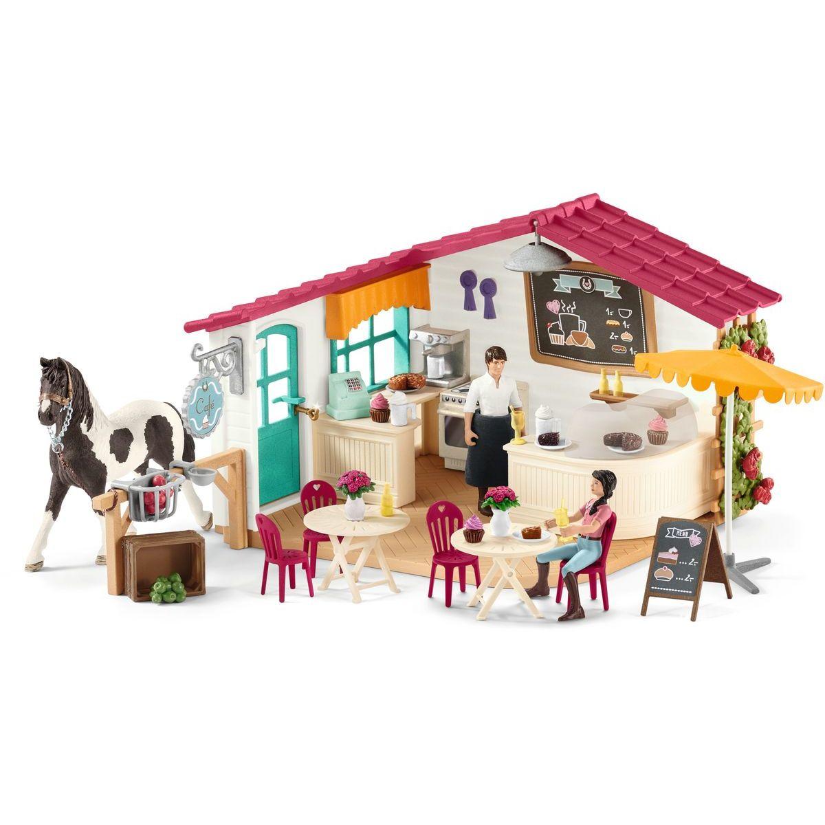Schleich Kavárna pro jezdce