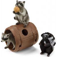 Schleich Lesné zvieratká hľadajú oriešok