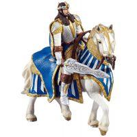 Schleich Rytíř Král na koni