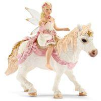 Schleich 70501 Křehká elfí víla jedoucí na poníkovi