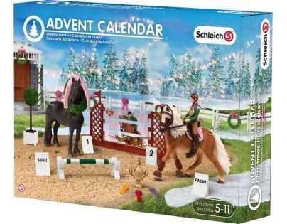 Schleich Adventní kalendář Koně