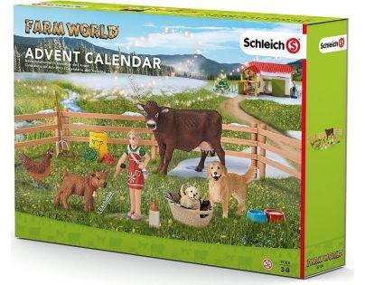 Schleich Adventní kalendář 2016 Domácí zvířata