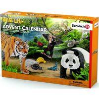 Schleich 97433 Adventní kalendář - Africká zvířata - Poškozený obal