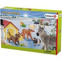 Schleich 97448 Adventní kalendář Domácí zvířata