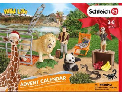 Schleich Adventní kalendář 2018 Divoká zvířata