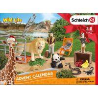 Schleich 97702 Adventní kalendář 2018 Divoká zvířata