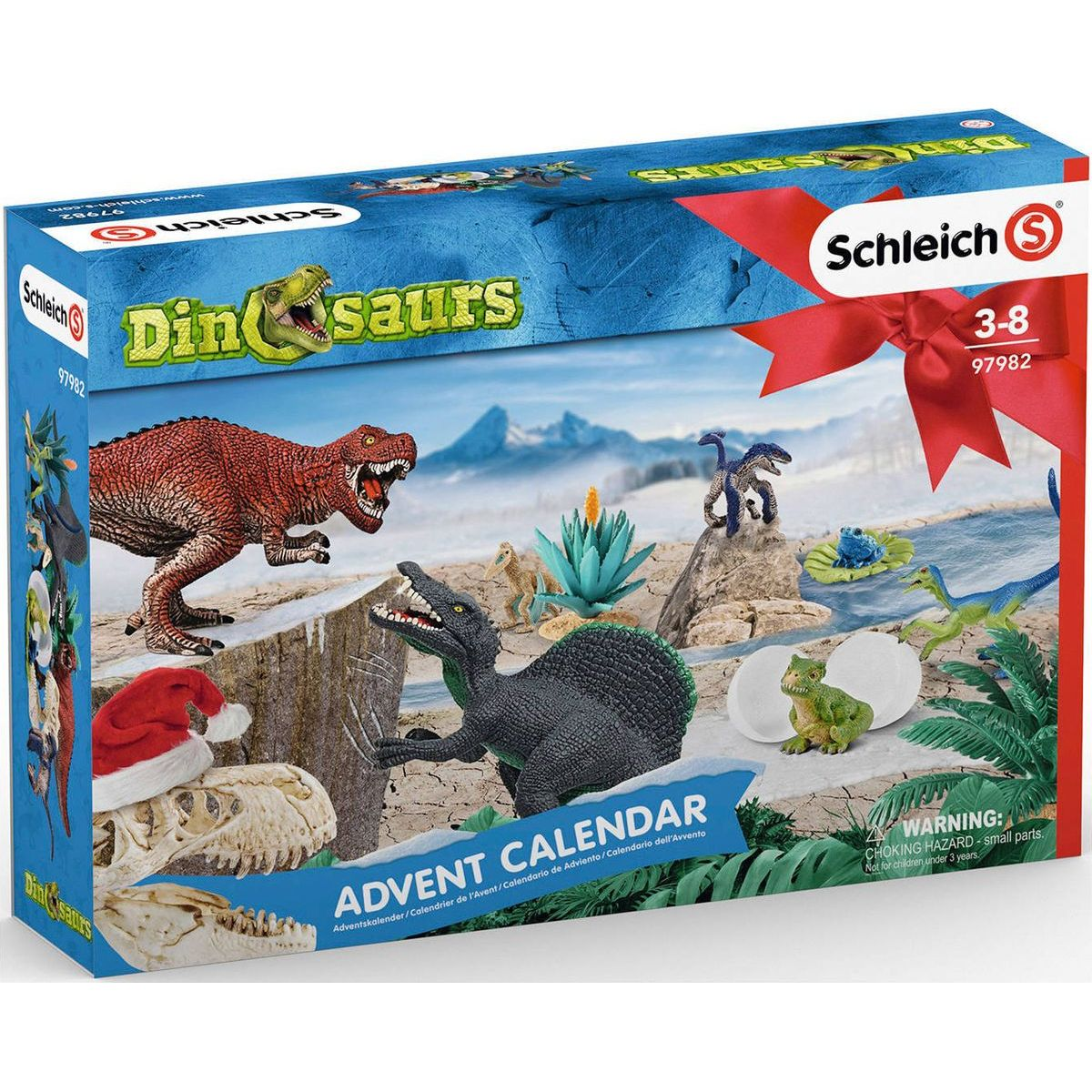 Schleich Adventní kalendář 2019 Dinosauři