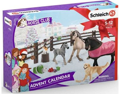 Schleich Adventní kalendář 2019 Koně