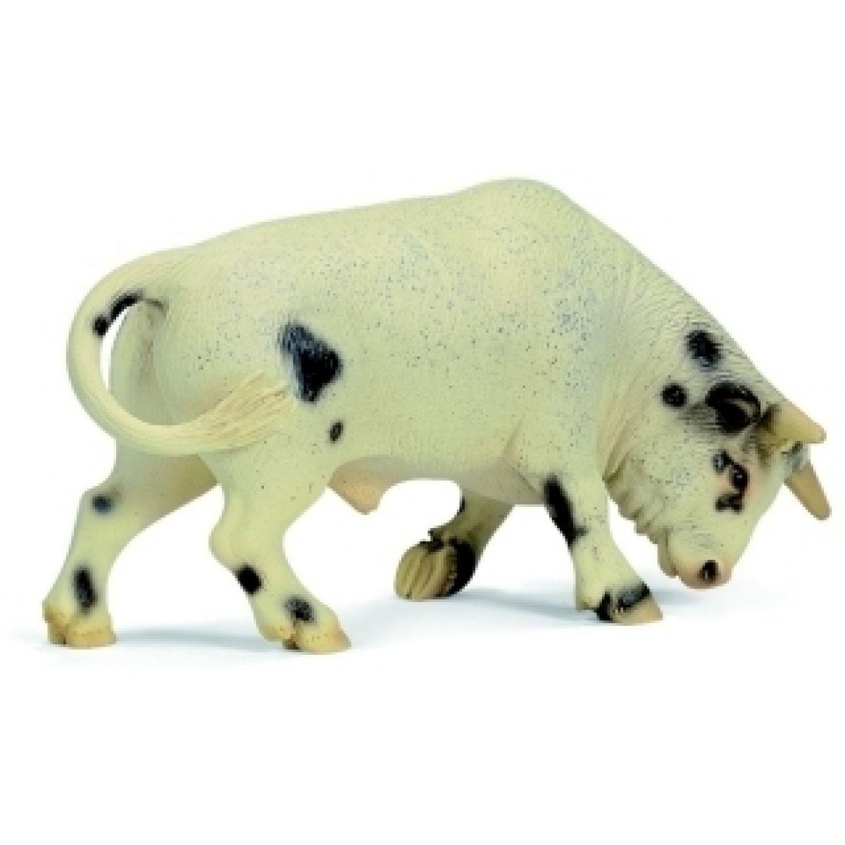 Schleich 13613 - Zvířátko - bílý býk