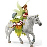 Schleich Víla Marween ve slavnostním oděvu na koni