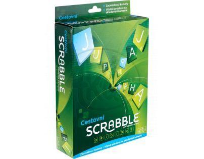 Mattel Y9756 - Scrabble Originál Cestovní Cz