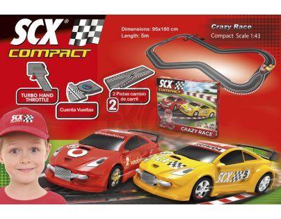 Scx Autodráha Crazy Race 5 m