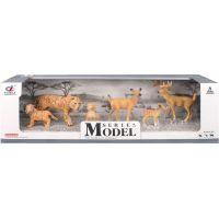 EP Line Series Model Svět zvířat Rodina tygrů a jelenů