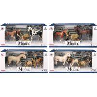 EP Line Series Model Svět zvířat Sada 1 Kůň a hříbě s figurkou