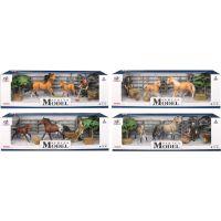 EP Line Series Model Svět zvířat Sada 1 s figurkou, koněm a hříbětem