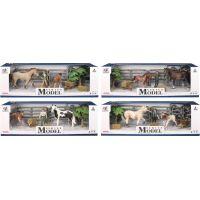 EP Line Series Model Svět zvířat Sada 2 s figurkou, koněm a hříbětem