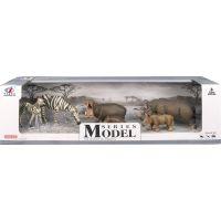 EP Line Series Model Svět zvířat zebry, hroši, nosorožci