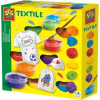 SES Barvy na textil 6 barev 0364