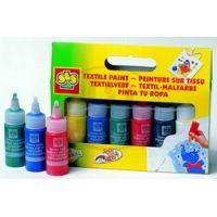 SES Barvy na textil 6 barev