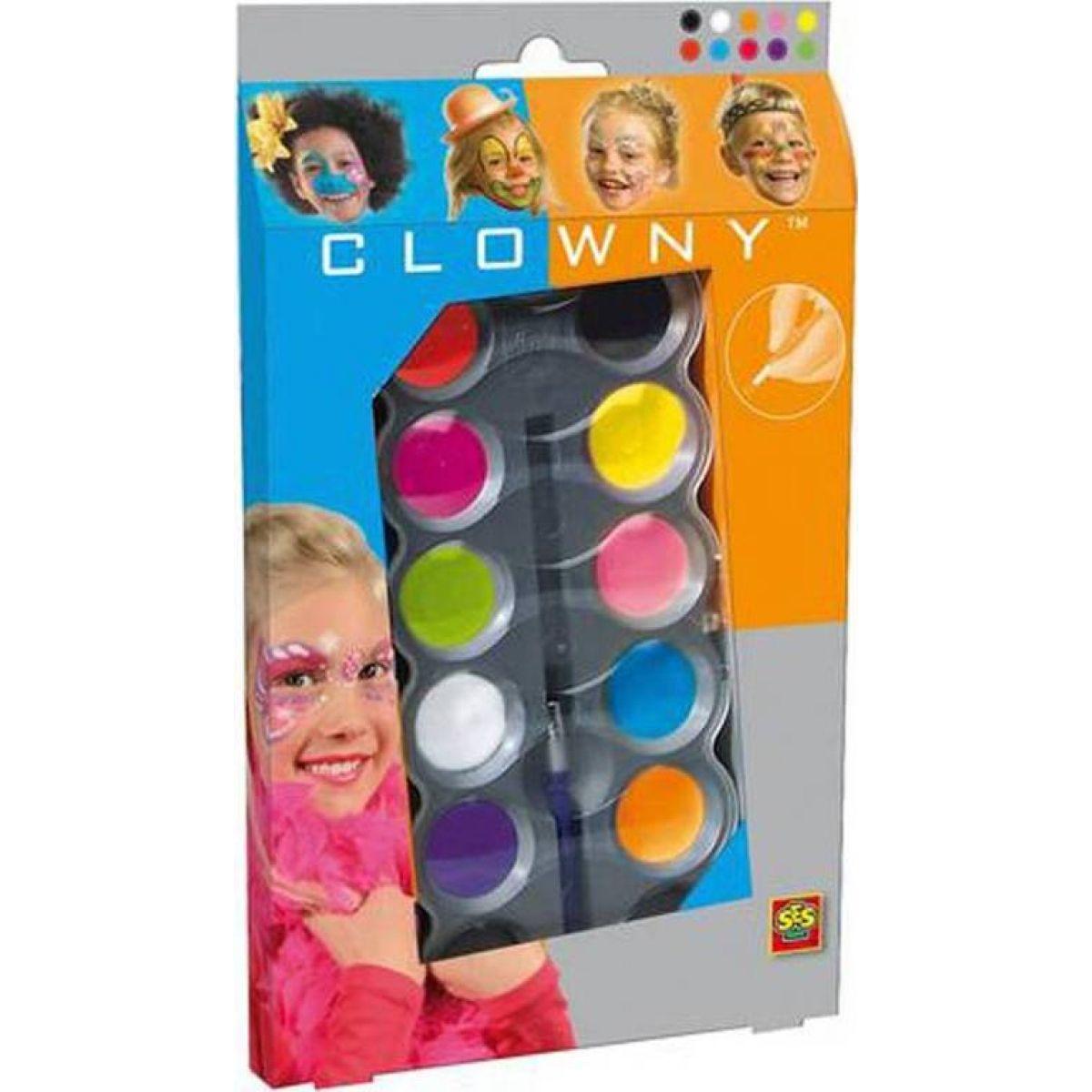 Clowny aqua 10 barev Trendy