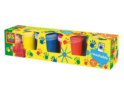 SES 305 - Dět.barvy pro malování prsty,4x150m