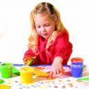 SES 305 - Dět.barvy pro malování prsty,4x150m 4