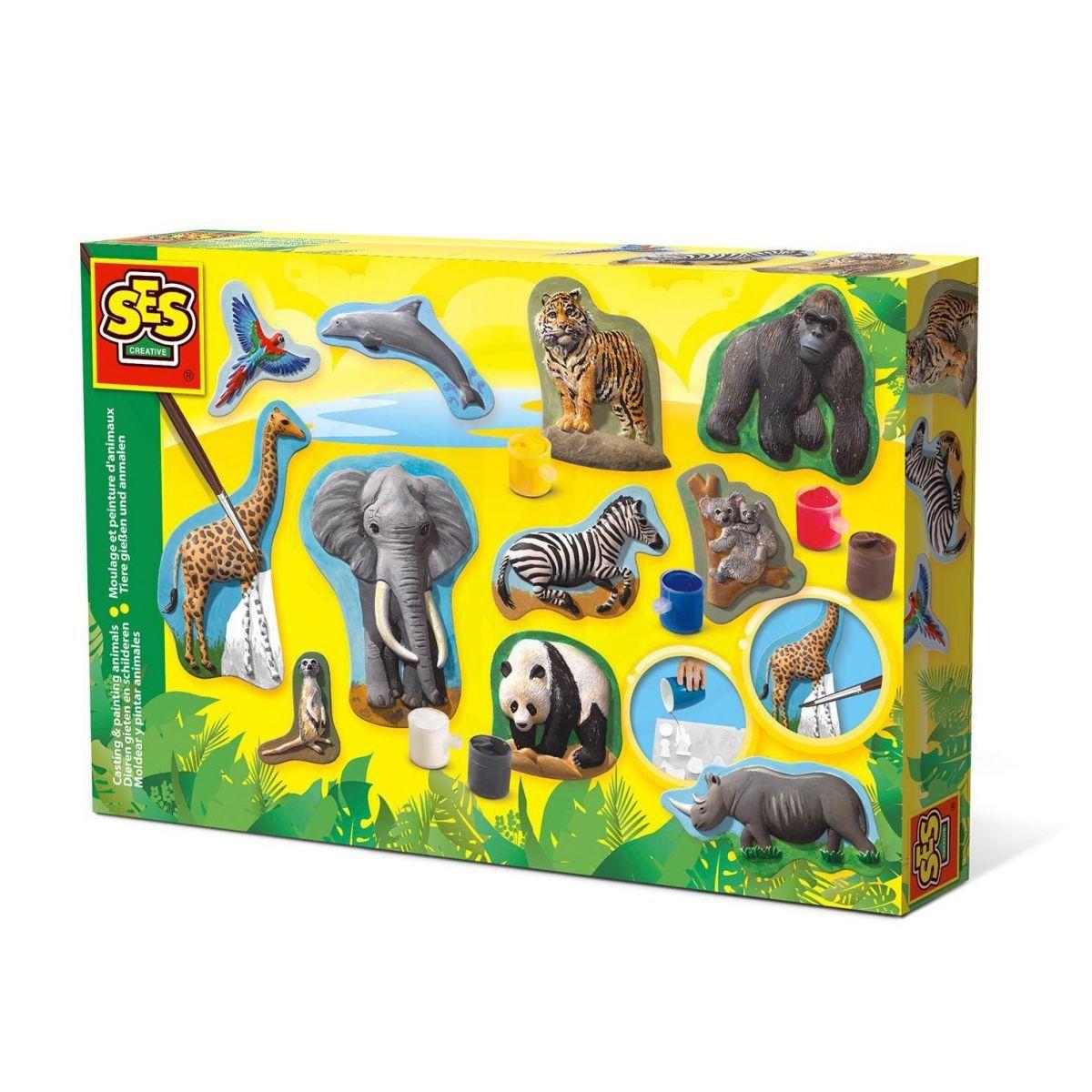 SES | Odlévání a malování Zvířátka ze sádry