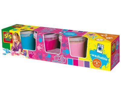 SES 304 - Prstové barvy - Trendy - 4x150 ml