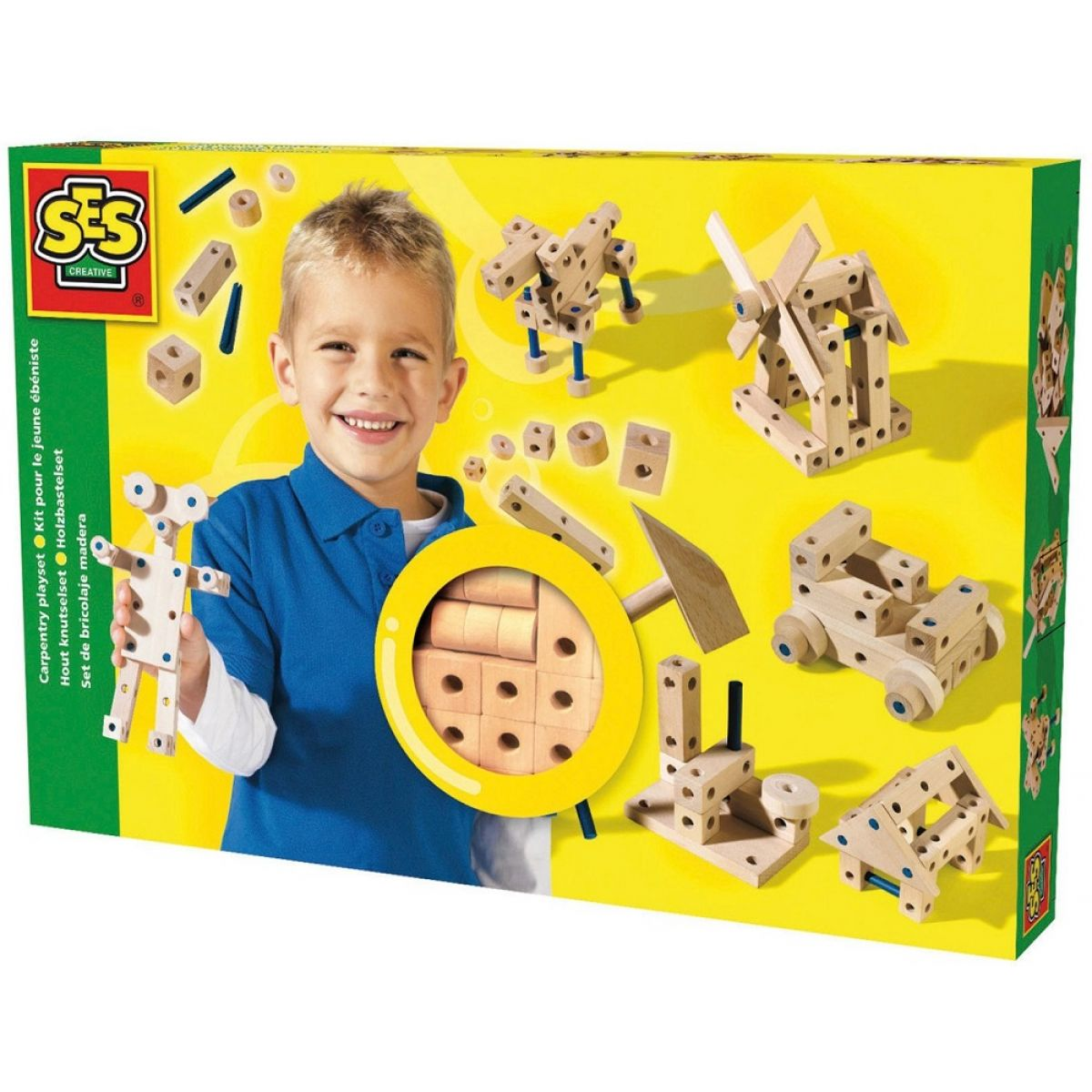 Ses Skládání ze dřeva