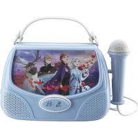 Globix Set Frozen se sluchátky, svítilnou a karaoke boxem 4
