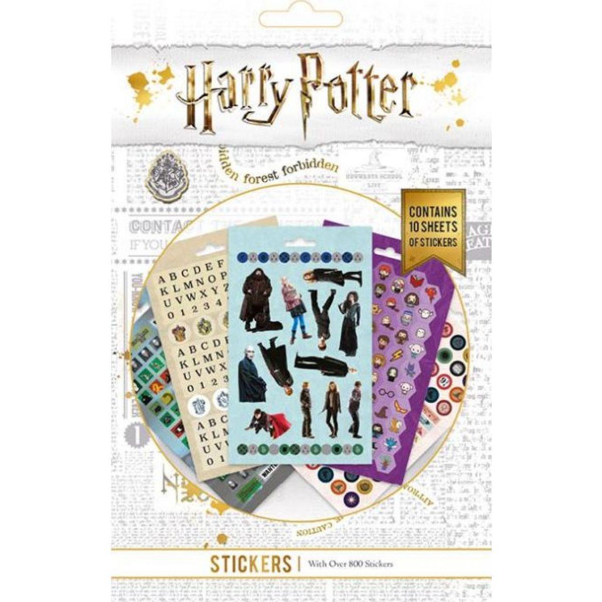 Set samolepiek Harry Potter 800 ks