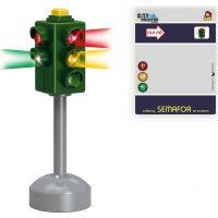 Made Set semaforu so značkami 20 x 15 cm