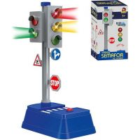 Made Set semafor so značkami 24 x 14 cm