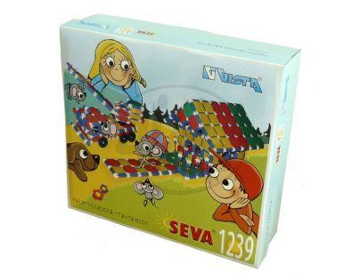 Vista 0301-22 - Stavebnice Seva plast 1239 dílků