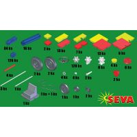 Vista 0301-20 - Stavebnice Seva (445 ks) 3