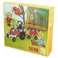 Vista - Stavebnice SEVA 718 - Traktor s valníkem