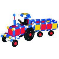 Vista Stavebnice Seva 718 Traktor s valníkem plast