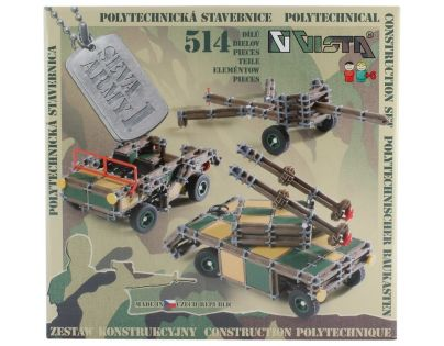 VISTA 3118 - Stavebnice Seva Army 1 plast 514ks v krabici