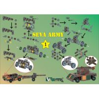 Vista Stavebnice Seva Army 1 plast 514 ks v krabici 3