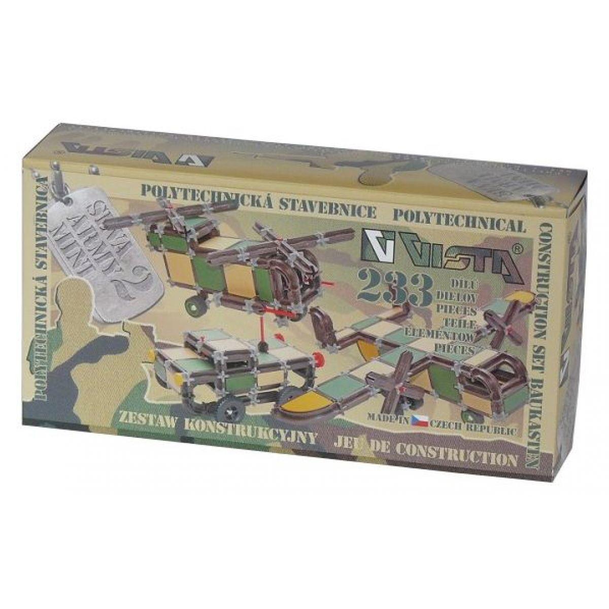 Vista Stavebnice Seva Army Mini 2 plast 233 ks v krabici