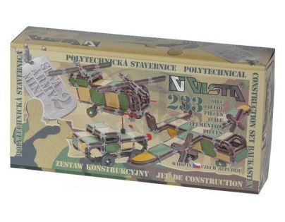Vista 0301-47 - Stavebnice Seva Army MINI 2 plast 233ks v krabici 31,5x16,5x7,5cm