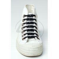 Shoeps Silikonové tkaničky Black
