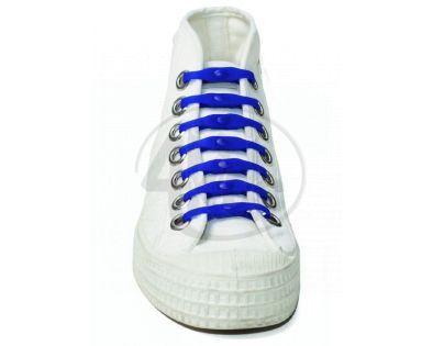 Shoeps Silikonové tkaničky Blue